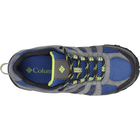 Columbia Redmond WP Chaussures Enfant, azul/bright green
